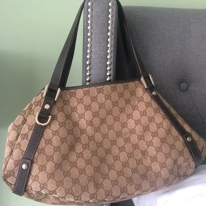 Gucci Abbey GG monogram bag